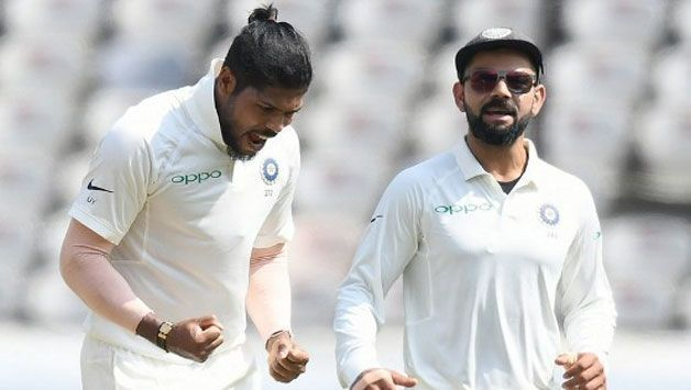 Umesh Yadav claimed 10 wickets in Hyderabad as the only pace bowler available