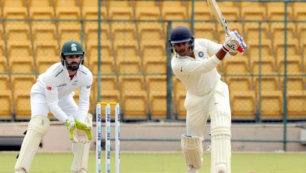 Deep Dasgupta does not feel that Mayank Agarwal will play the Hyderabad Test