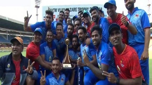 Mumbai won their third Vijay Hazare Trophy this month.