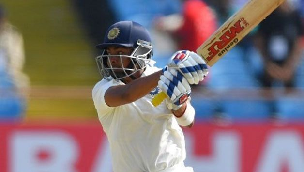 Prithvi Shaw sped to a fifty on Test debut, becoming the youngest Indian to do so.
