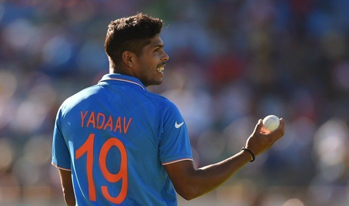 Umesh Yadav has a chance to impress ahead of the World Cup
