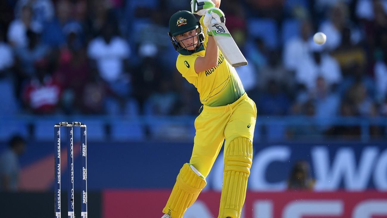 Alyssa Healy has four Player-of-the-Match awards in a row
