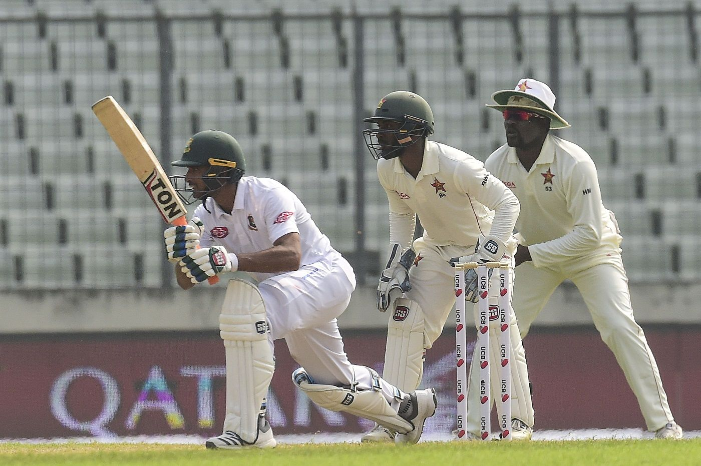 Mahmudullah's 101* was his first Test century since 2010.