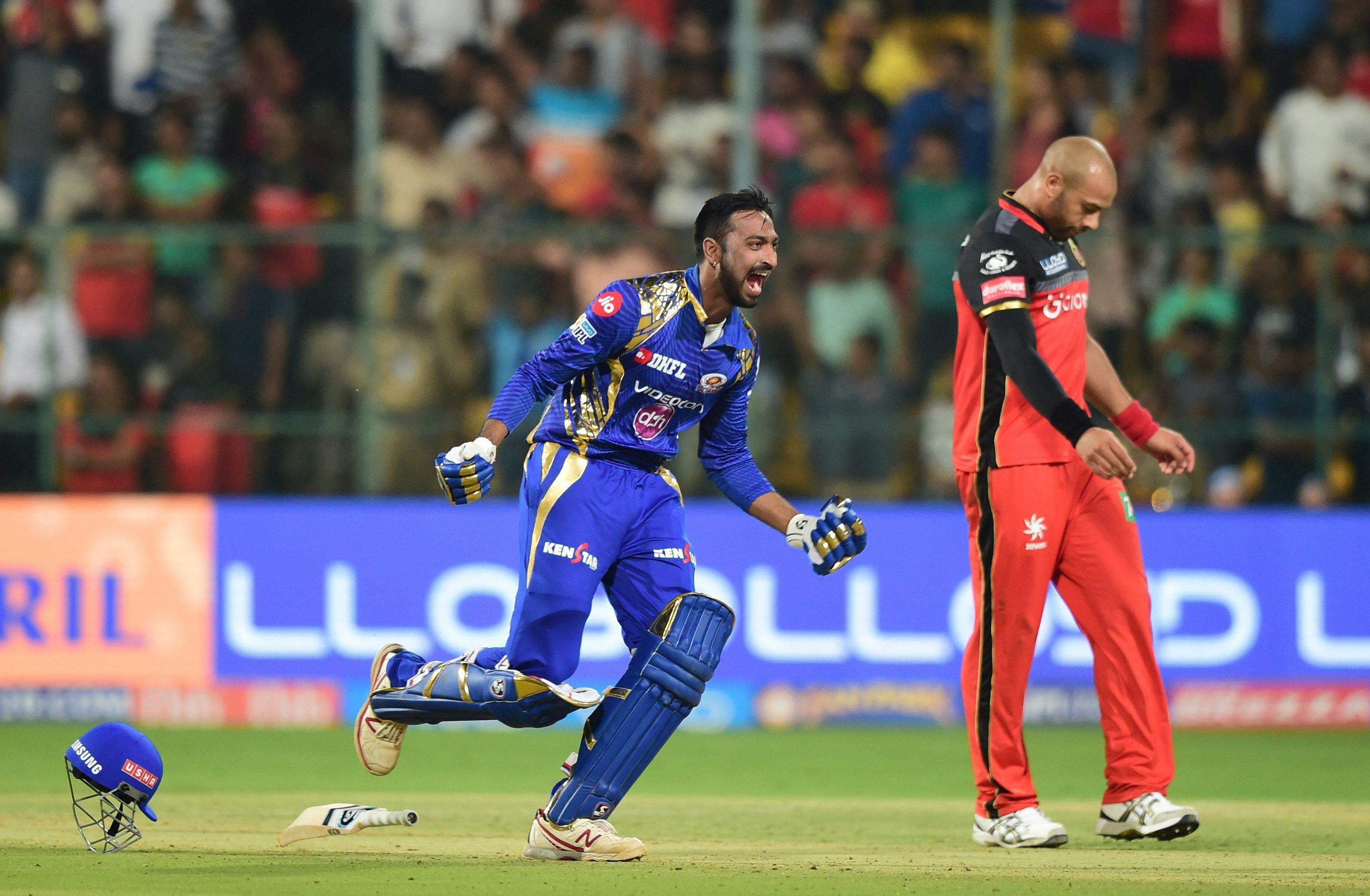 Mumbai Indians bought Krunal Pandya back for Rs 8.8 crore after his heroics in 201