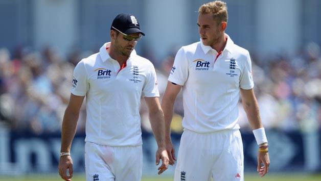 James Anderson and Stuart Broad are two wickets shy of 1,000 in tandem