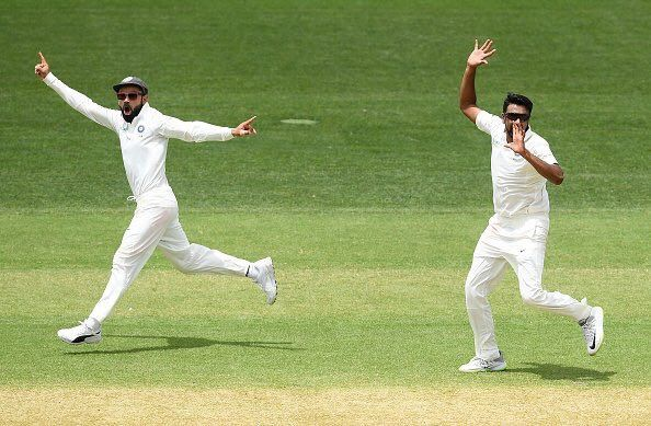 R Ashwin wrapped up the Test with the wicket of Josh Hazlewood to seal a memorable win