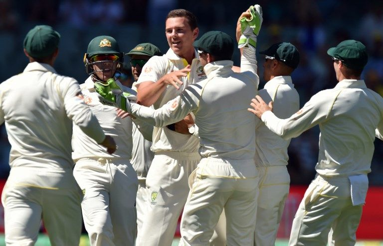 Josh Hazlewood got KL Rahul and Ajinkya Rahane on the first morning