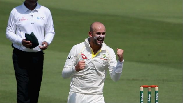 Nathan Lyon was at the forefront of Australia's dominance on day three.
