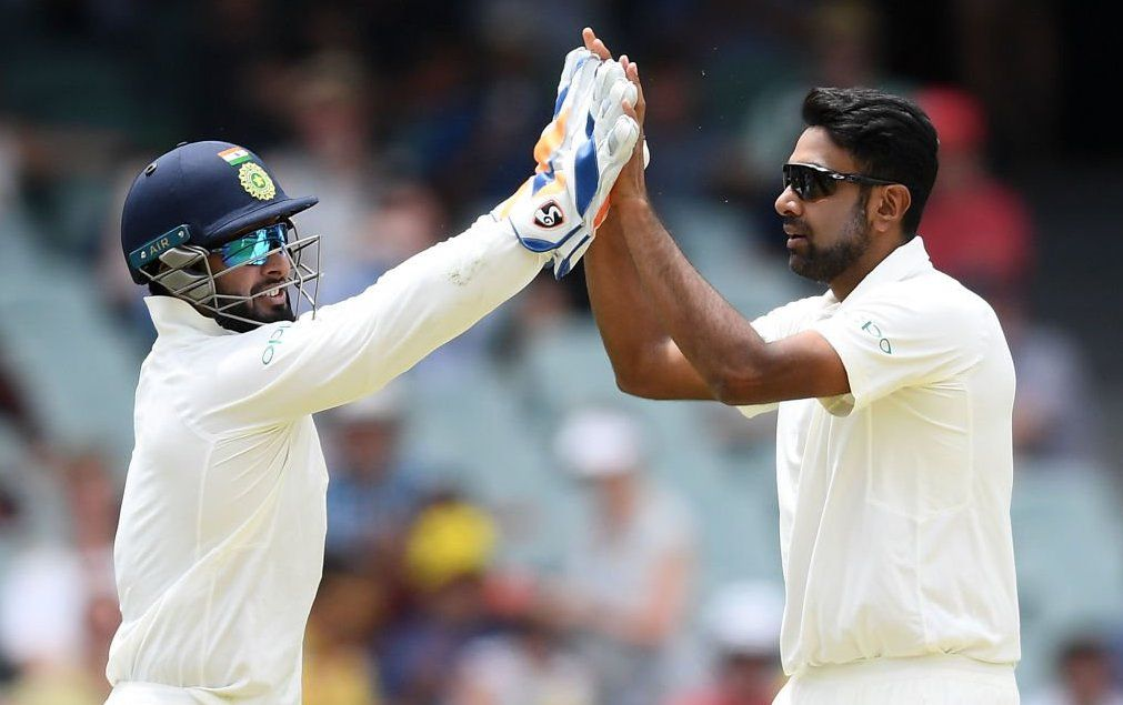 R Ashwin took three of the four Australia wickets to fall on day two