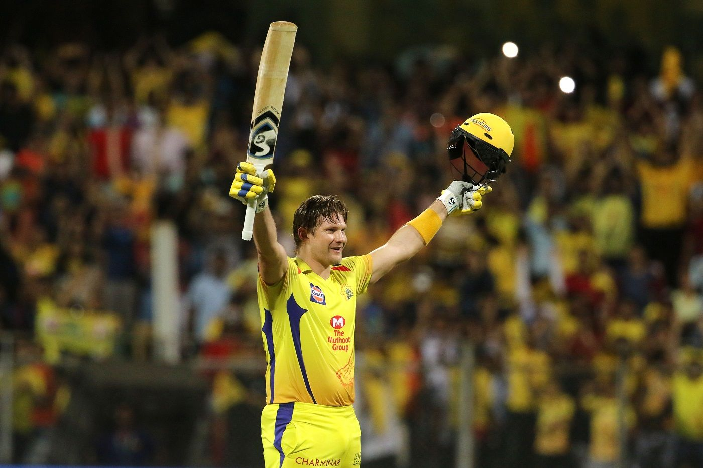 Shane Watson powered CSK to the IPL title this year.