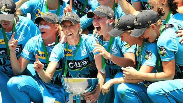 Gutsy Mooney Guides Brisbane Heat To Maiden Wbbl Title Cricket Country