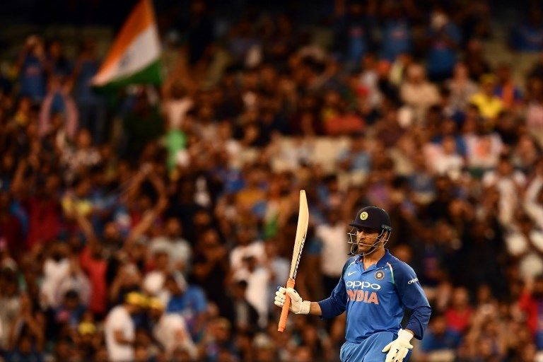 MS Dhoni took India home with 87* at the MCG.