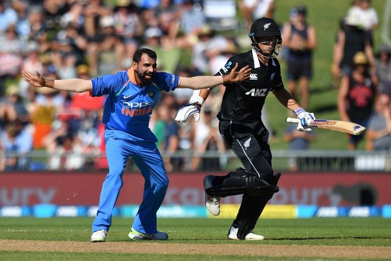 Mohammed Shami crossed 100 ODI wickets on a three-wicket day.