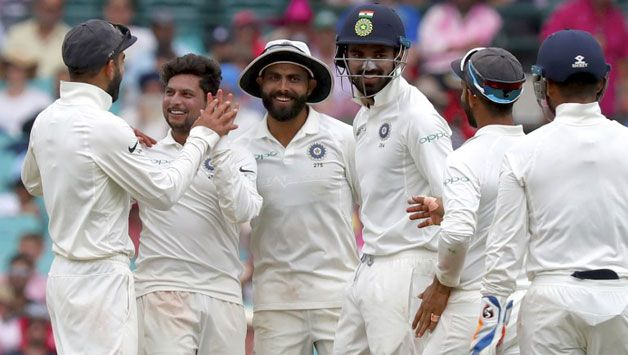In his first appearance, Kuldeep Yadav picked up 3/71. © AFP