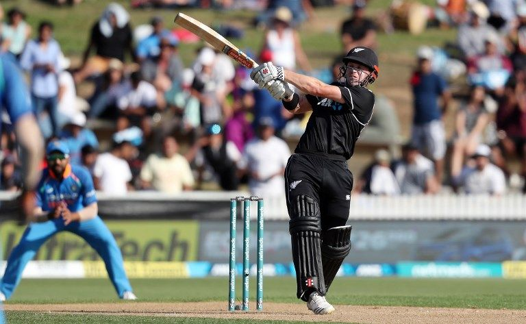 Henry Nicholls scored 30* in his first dig as ODI opener.