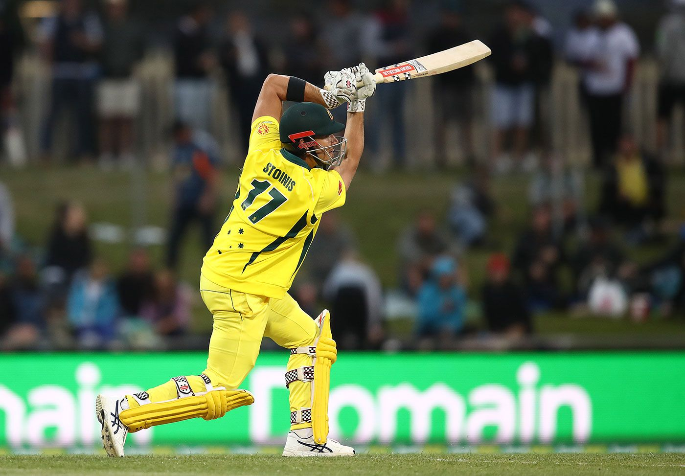 Marcus Stoinis was the third-highest run-scorer with 376 runs during the voting period.