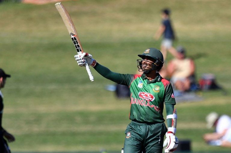 Mohammad Mithun's 62 was the sole half-century of Bangladesh's innings.