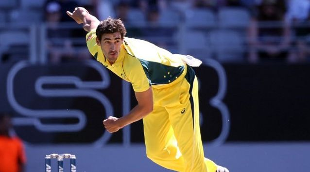 """Mitchell Starc was ruled out of Australia's Twenty20 and one-day tour of India with a """"substantial"""" muscle tear"""