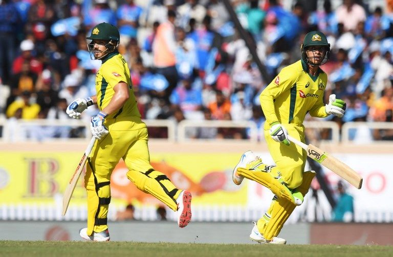 Usman Khawaja and Aaron Finch laid the platform for Australia's dominance