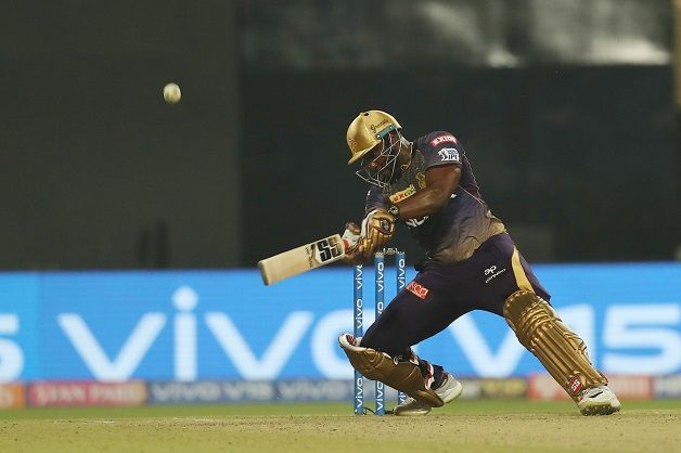 Kolkata rode on Andre Russell's whirlwind unbeaten 19-ball 49 to chase down a 182-run target