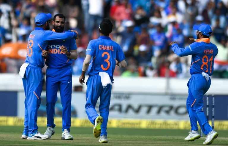 Mohammed Shami's second spell saw India hit back.