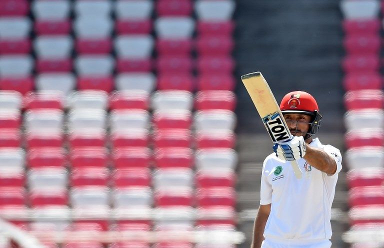Rahmat Shah scored his second fifty of the match to carry Afghanistan to victory.
