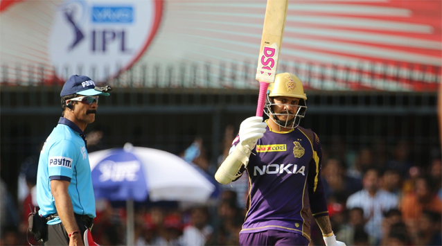 Sunil Narine's best score of 75 came against Punjab in 2018.