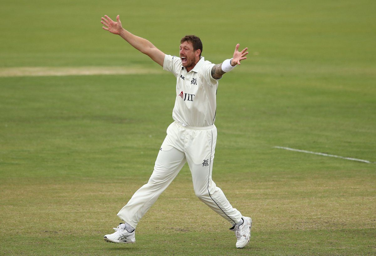 James Pattinson took 7/71 to bowl Victoria to the Sheffield Shield title.