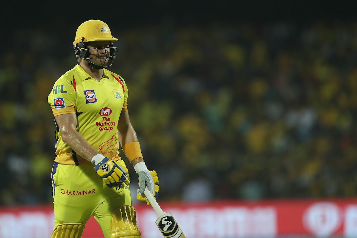 Shane Watson CSK poor form