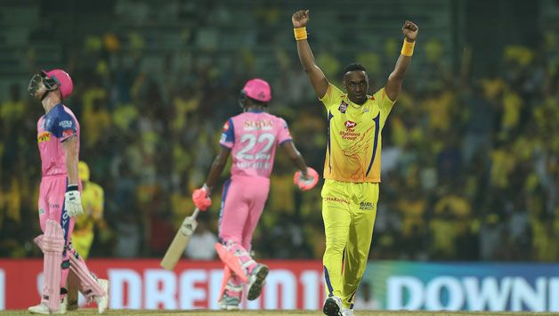 Dwayne Bravo defended 12 off the last over as RR lost to CSK