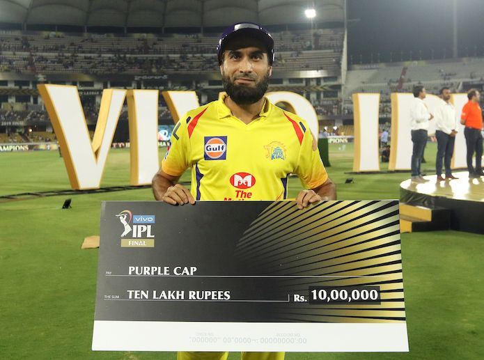 IPL Purple Cap 2019: CSK's Imran Tahir sets spin record for most wickets in an IPL season