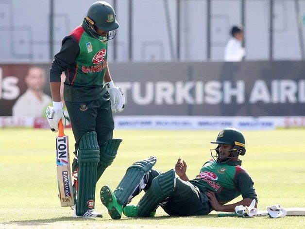 Image result for Bangladesh Sweat Over Shakib Fitness Before Tri-series Final news18