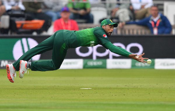 Mohammad Amir dropped catches