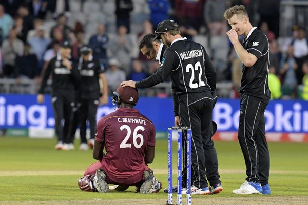 West Indies vs New Zealand World Cup