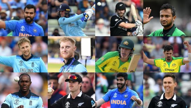 Rohit Sharma, Jasprit Bumrah, four England players in ICC's team of Cricket World Cup 2019 led by Kane Williamson