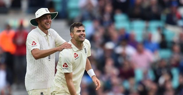 James Anderson Test record
