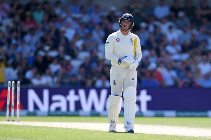 3rd Ashes Test 2019: Jason Roy screams 'f*** off' after Test batting average heads toward new low