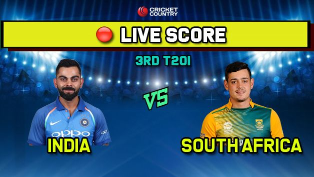 India vs South Africa, IND vs SA 3rd T20I, LIVE streaming: Toss in five minutes