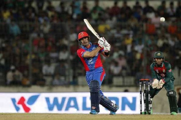 Mohammad Nabi's thunderous 84 powers Afghanistan to clinical 25-run win over Bangladesh