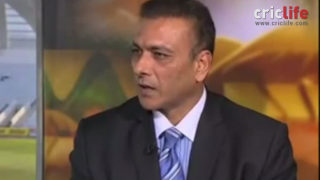 Shastri & Hussain engage in verbal debate over DRS