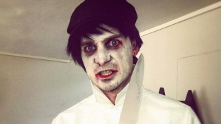 Photo: When Dale Steyn stepped into Joker's shoes for Halloween!