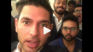 """Video: Yuvraj Singh """"fooling around"""" at Indian High Commission in Dhaka"""
