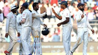 India complete series win over listless England; win 4th Test at Mumbai by an innings and 36 runs