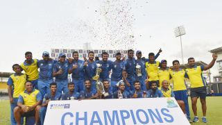 Galle win Provincial Limited-Overs Tournament