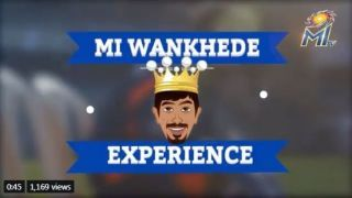 Watch Bumrah talk about his first experience playing at Wankhede stadium