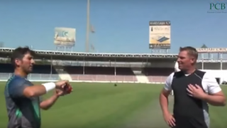 The day Yasir Shah learnt few tricks from Shane Warne
