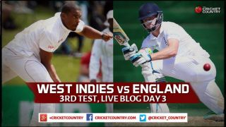 Live Cricket Score West Indies vs England 2015, 3rd Test at Barbados Day 3, WI 194/5: Hosts complete 5-wicket win; level series 1-1