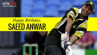 Saeed Anwar: 10 interesting things to know about the Pakistani opener