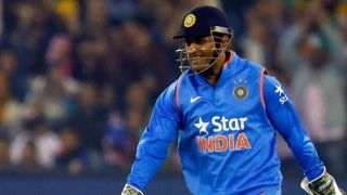 Dhoni becomes 1st wicketkeeper to take 50 catches