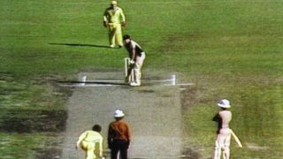When an Australian bowler shamed cricket by bowling underarm delivery